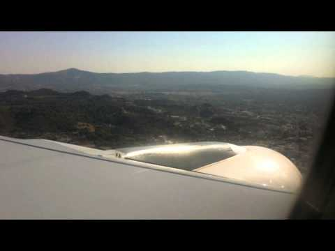 Landing to Rhodes Greece