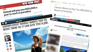 Hawaii Will Not Pay You To Come Work In Paradise