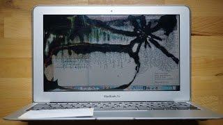 €89.00 hors pièce - Remplacement écran cassé MacBook Air 11