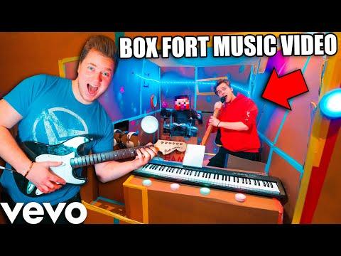 BillionaireBox Fort Baby Music Studio - Papa Jake Song Challenge