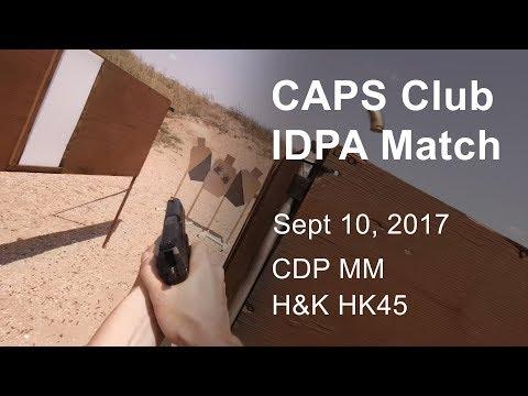 September Match - CAPS Club IDPA - Sept 10, 2017