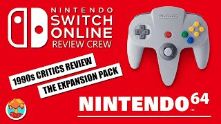 1990s Critics Review Nintendo Switch Online Expansion Pack Nintendo 64 Games! - Defunct Games