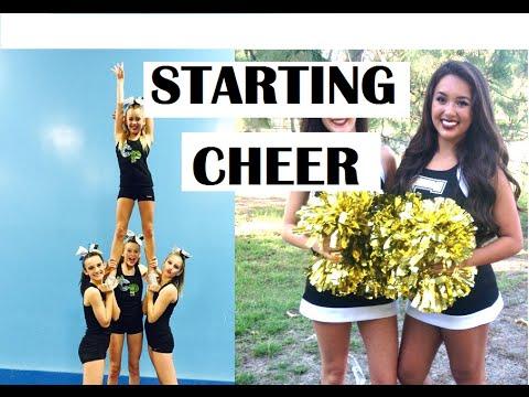 Advice: Starting Cheer