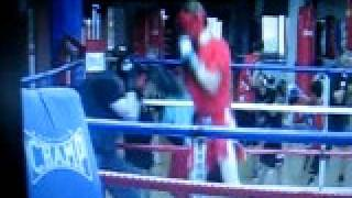 boxing capitol gent (me in the ring white the new jong blood)