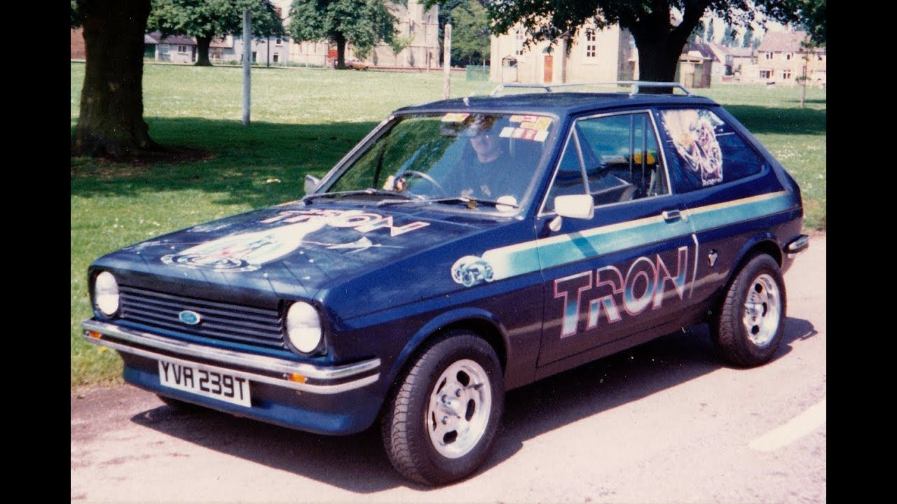 tron the mk1 ford fiesta van youtube. Black Bedroom Furniture Sets. Home Design Ideas