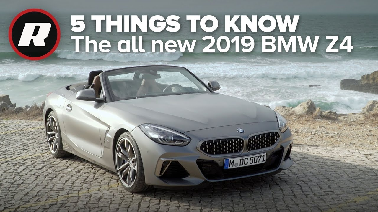 New 2019 BMW Z4 Roadster: 5 things you need to know