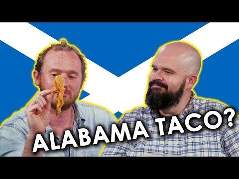 Scottish Man tries Southern Snacks