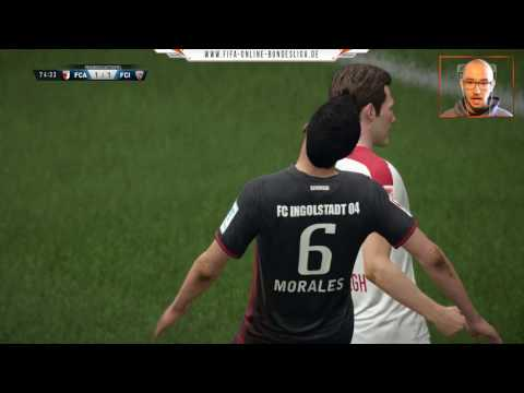FC Augsburg : FC Ingolstadt 04 |LIVESTREAM| Lets Play FIFA 17 1. Bundesliga 27. Spieltag