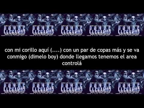 LETRA: Ñengo Flow Ft. Chiko Swagg - Donde...