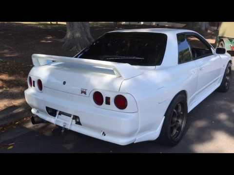 Nissan Skyline GT-R R32 RB26DETT sound 1994 mint For Sale