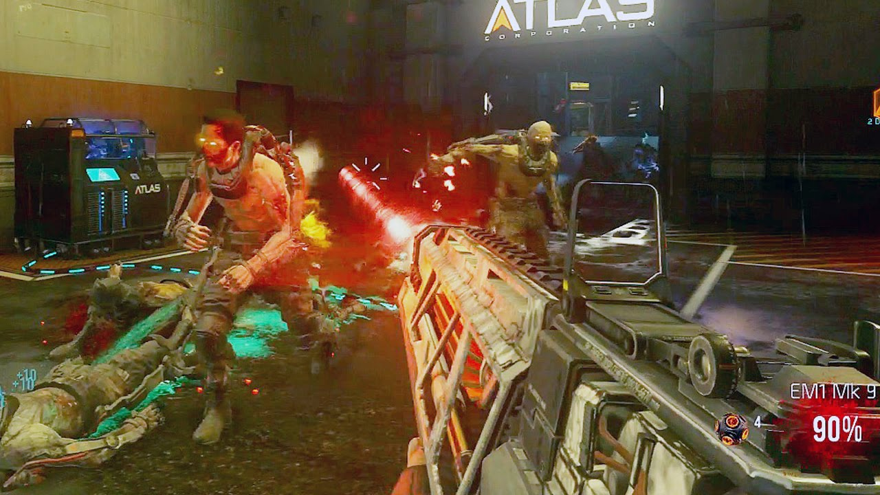 Call of duty advanced warfare exo zombies gameplay
