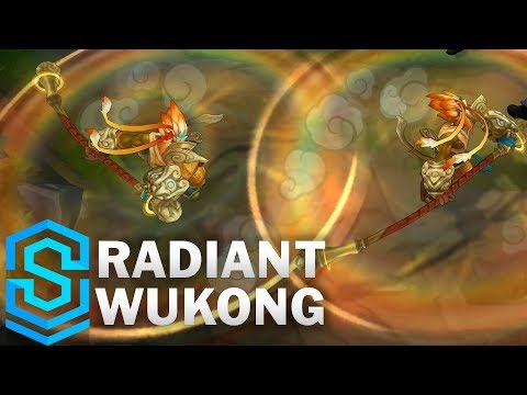Radiant Wukong (2020) Skin Spotlight - League of Legends