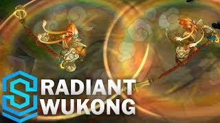 Radiant Wukong (2020) Skin Spotlight - League of Legends