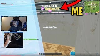So I stream sniped my TWIN brother in Fortnite...