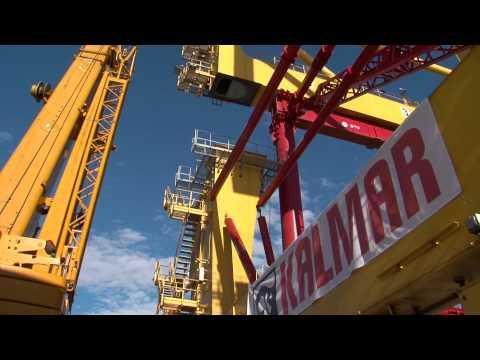 Heightening of STS cranes, Terminal de Contenidors de Barcelona