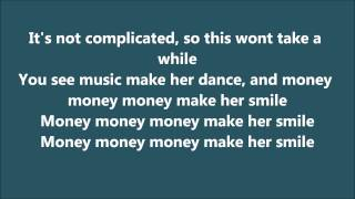 Bruno Mars - Money make her smile *lyrics*