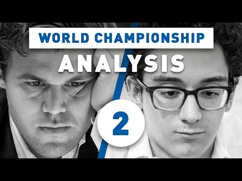 Carlsen - Caruana Game 2 World Chess Championship 2018 | Grandmaster Analysis