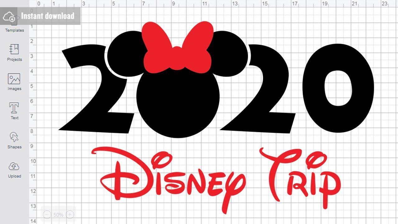 GSP Minnie Mouse Sailor Instant Download SVG