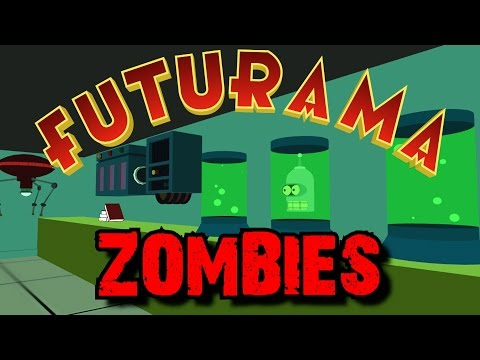 FUTURAMA ZOMBIES: The Mutant Uprising ★ Call of Duty Custom Zombies Maps/Mods Gameplay