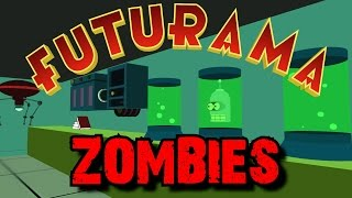 FUTURAMA ZOMBIES: The Mutant Uprising ★ Call of Duty Custom Zombies Maps/Mods Gameplay