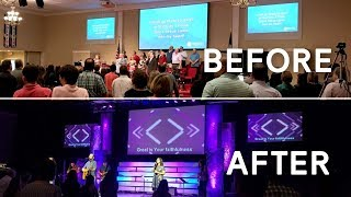 Transformation and Behind the Scenes of Southside Baptist Church