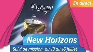 Le survol de Pluton par New Horizons (15 Juillet)