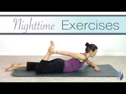 Nighttime Pilates Routine