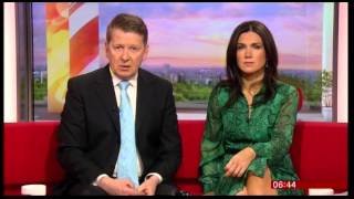 BBC Breakfast's Susanna Reid Picks A Fight With Bill Turnbull
