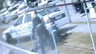 Houston Police Beating Caught on Video Surveillance