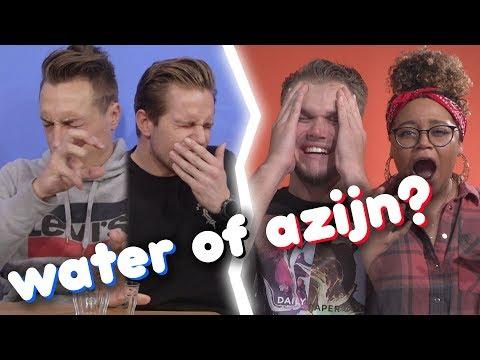 WATER of AZIJN ROULETTE CHALLENGE met QUINSDING!  #GEINIG