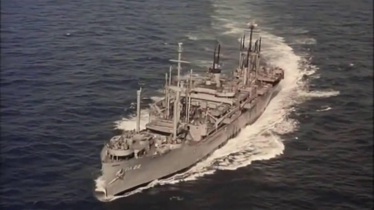 War Movie : Away All Boats 1956 (Full Movie)