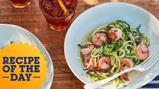Recipe of the Day: Shrimp Scampi Zoodles | Food Network