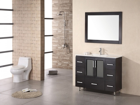 Delightful Narrow Depth Vanities Design Ideas