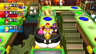 Mario Party 9 - Gameplay modo tablero