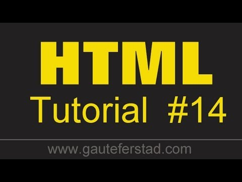 HTML Tutorial 14 Aligning An Image Within The Text