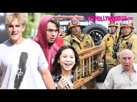 Thumbnail: Jake Paul & Team 10 Swatted Again! Max Beaumont Speaks & Angry Neighbor Goes Crazy! 7.24.17