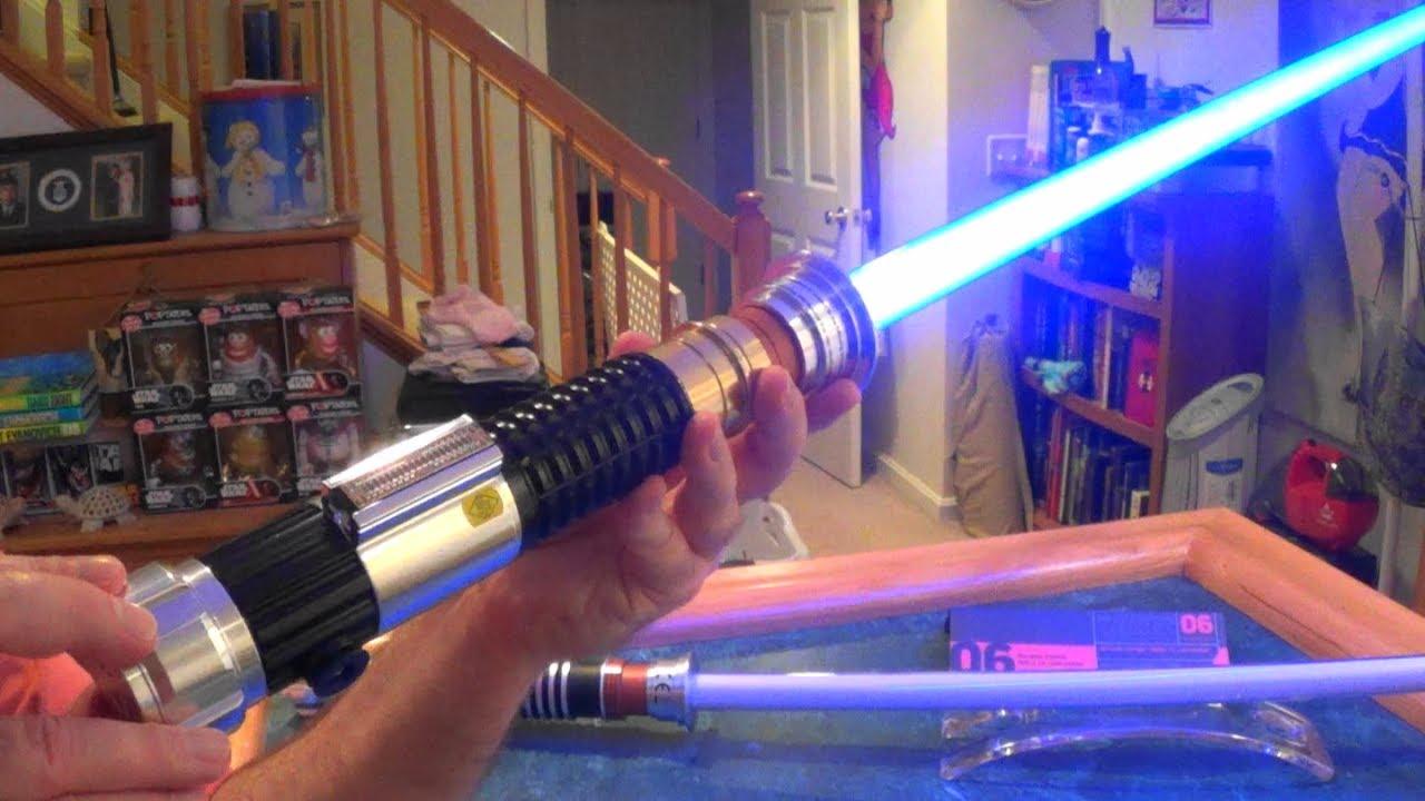 Obi Wan Kenobi Black Series Force Fx Lightsaber Unboxing Overview Youtube