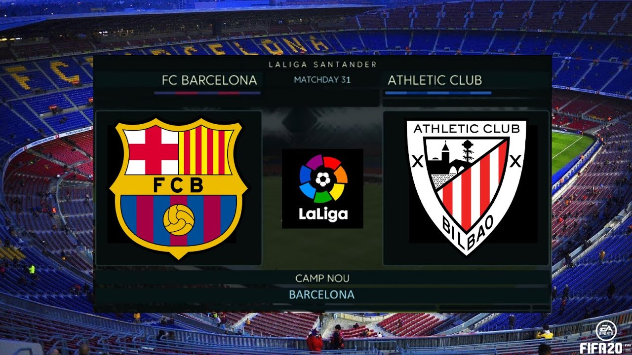 FC BARCELONA vs ATHLETIC CLUB 1 - 0 I Goles & Resumen ...