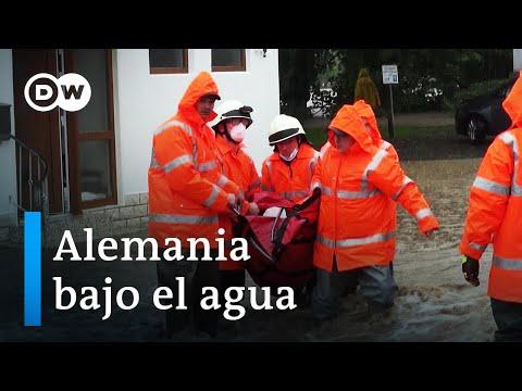 Inundaciones arrasan el oeste de Alemania   DW Documental