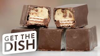 DIY Cookie Dough Kit Kats | Get the Dish