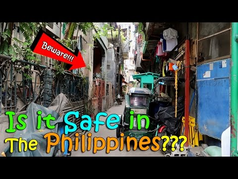 IS IT SAFE IN THE PHILIPPINES??? | April 5th, 2017 | Vlog #75