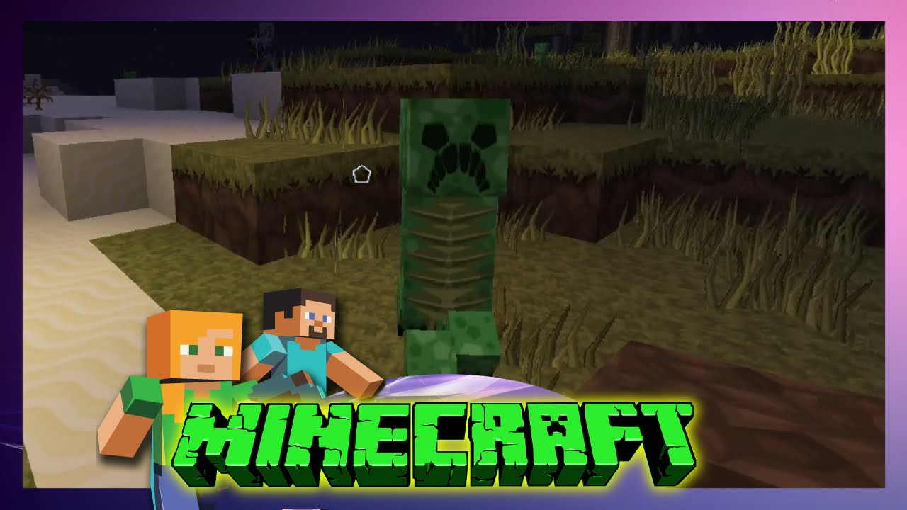 Minecraft Friends Böse Creeper Lets Play Minecraft - Minecraft creeper spiele
