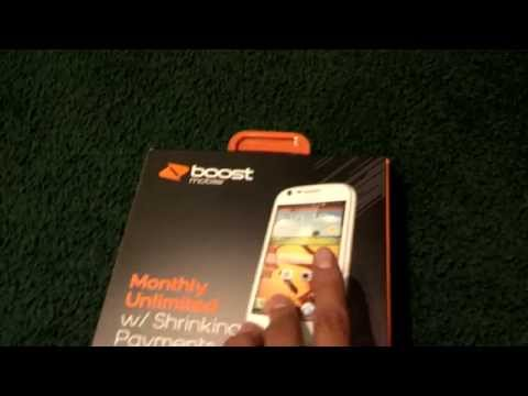 Samsung Galaxy Prevail 2 (Boost Mobile) Unboxing