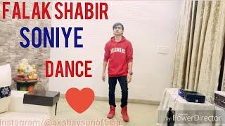 Soniye 💗 | Falak Shabir | Dance Video | Akshay suri |