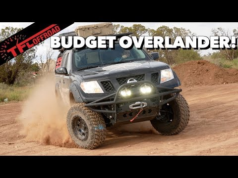 Here Is A Brand New Overland Truck For $40,000! Check Out This Nissan Frontier 4x4