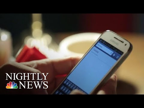 Would You Give Up Your Smartphone For A Year For $100,000? | NBC Nightly News
