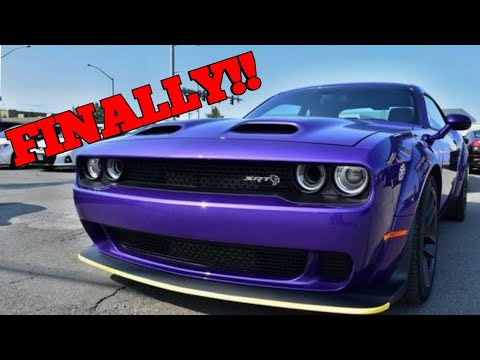 I Got The Key To This 2019 Dodge Challenger SRT Hellcat Widebody!