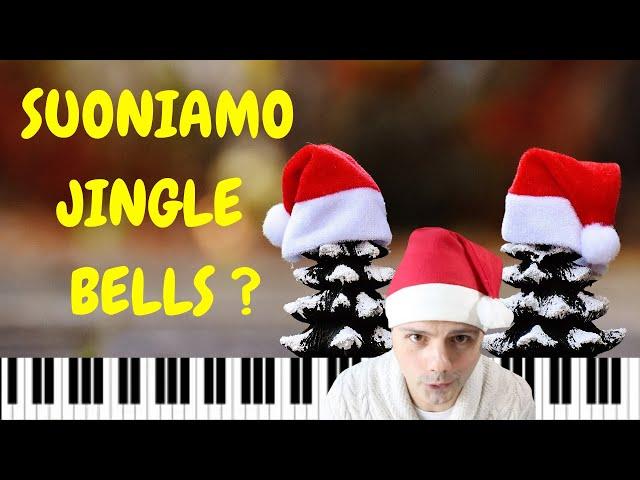 Tutorial-Jingle Bells-Lezione di pianoforte per bambini con base audio e video esempi-Natale 2019