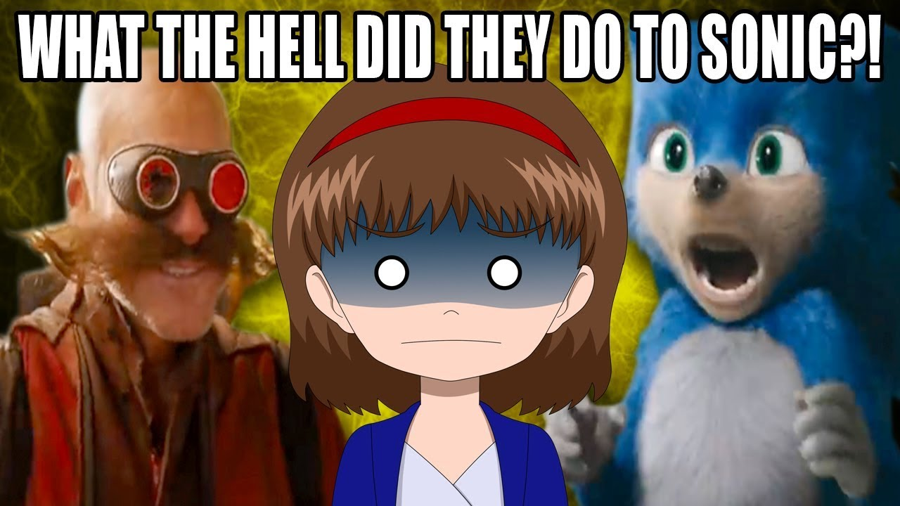 What The Hell Is This Sonic The Hedgehog Movie Trailer Reaction
