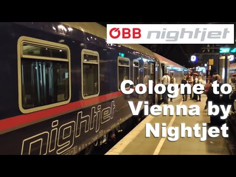 Cologne To Vienna By Nightjet Sleeper Train